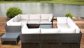 covers sets sectional engaging armchair round wicker white chairs corner garden wedge curved suncrown sofa rattan