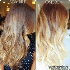 Sombre stands for subtle ombre, meaning ombre
