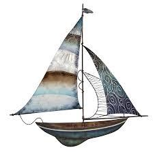 metal sailboat wall decor 22