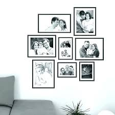 wall picture framing ideas family decorations personalised photo frame sticker design for walls wall frame ideas