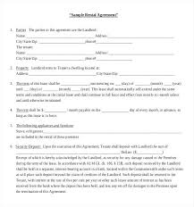 Simple Apartment Lease Form Month To Rental Agreement Forms Periodic ...