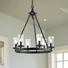 chandelier wrought iron with crystals circa ralph lauren roark