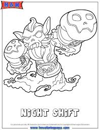 Skylanders Coloring Page Coloring Page Pages Printable Medium Size