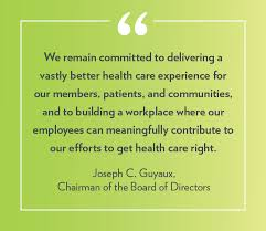 highmark health 2017 annual report from our chairman and our chief executive officer