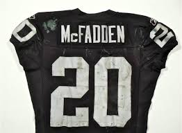 Game Worn Raiders 25 - Services Jets Mcfadden Authentcation Oakland Vs Darren Jersey Authentic 9 11 100 afcfbefbcdbbf|2019 NFL Season Preview