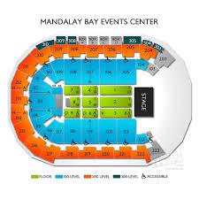 Mandalay Bay Resort Las Vegas Nv Seating Chart 48 Circumstantial Mandalay Bay Event Center Map