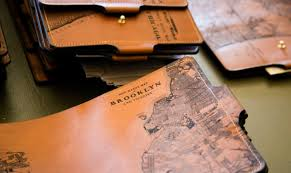 leather journals by tactile craftworks