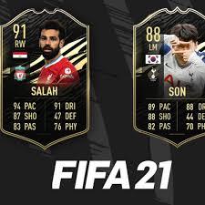 FIFA 21 | El TOTW 11 trae los primeros IF para Heung Min Son y Salah