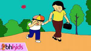 Ngày Đầu Tiên Đi Học - Dạy Bé Tập Hát Ngay Dau Tien Di Hoc - YouTube