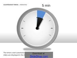 5 Minute Powerpoint Timer Countdown Timers Animated