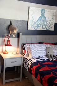 Our inspiration for Jack's shark themed boy's room came from browsing the  aisles of Target.