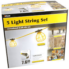 lighting strings. Woods Temporary String Lights With Receptacle. View Larger Lighting Strings