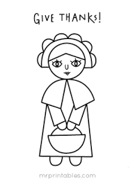 thanksgiving pilgrim girl coloring pages. Contemporary Girl To Thanksgiving Pilgrim Girl Coloring Pages I