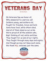 veterans day poems happy veterans day poetry veterans day poems for preschool