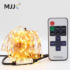 Dimmable Christmas Lights Us 2 86 33 Off Christmas Lights Outdoor Indoor 12v Waterproof Decoration Wedding Party Xmas Dimmable Led Garland Copper Wire Fairy String Light In