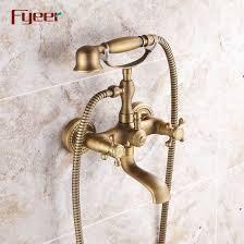fyeer antique bronze telephone bath