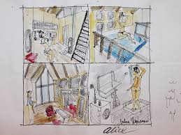 Tiny houses design process      by pin up in my tiny house designs  I enjoy it and it    s fun for me  The interior of the house is easier to draw and after that further inspiration come