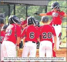 Troup All-Stars Shine With 9-1 Win Over Taylor County - Troup County News
