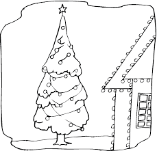 Small Picture Christmas Tree Colouring In fiorentinoscucinacom