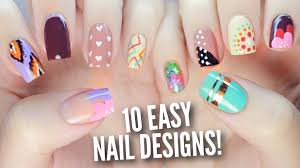 Art Designs 10 Easy Nail Art Designs For Beginners The Ultimate Guide 2