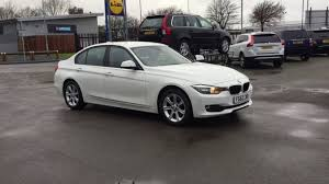 BMW 3 Series bmw 3 series in white : 2012 62 plate BMW 3 SERIES 2.0 316d 4dr (start/stop) white - YouTube