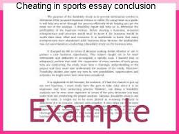 cheating in sports essay conclusion essay service cheating in sports essay conclusion