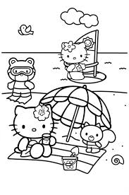 Did you know that hello kitty was born in 1974? Hello Kitty Mermaid Coloring Pages Best Coloring Pages For Kids