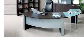 stylish office desk setup. Curved Desk \u2013 Perfect Choice For Any Office Setup Stylish E