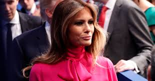 Not A Joke Melania Trump Wore A Pussy Bow Blouse To The Debate.