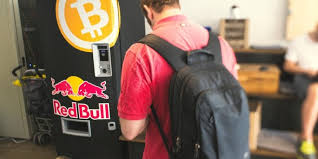 How To Get A Red Bull Vending Machine Mesmerizing BitcoinOnly Red Bull Vending Machine Goes To Hackers Congress XBT