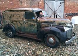 Ex-Pat Project: 1946 Chevy Panel Truck