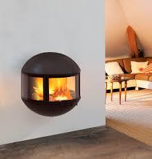 white wall hanging fireplace
