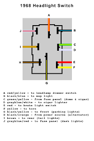 bronco com technical reference wiring diagrams 68 · headlight switch