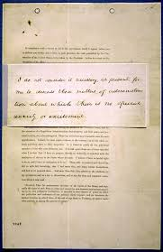 Even davis's admirers would rarely quote it, goodheart wrote back in 2011. First Inaugural Address Of Abraham Lincoln March 4 1861 Historical Speeches