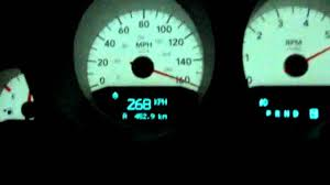Dodge Charger R/t 5.7L Top speed - YouTube