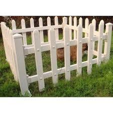 white plastic garden fence rs 850