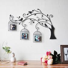 ehome pared de metal arte de la pared decoración el árbol y la
