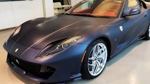 Over 2 users have reviewed 812 superfast on basis of features, mileage. Automotive Vault 2018 Ferrari 812 Superfast In Matte Black Youtube
