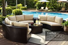 unusual outdoor furniture. Ultimate Outdoor Furniture Round Sectional Circular Patio Furniturerved Sofa Unusual