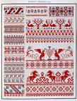 Схема для вышивки для полотенца