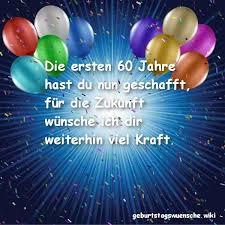 Glückwünsche Zum 60 Geburtstag Geburtstagswuenschewiki
