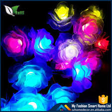 decorative solar lighting. Solar Powered Outdoor Decorative Flower LED Rose Lighting For Garden Lights