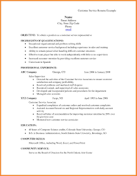 Customer Service Resume Skills Bio Resume Samples