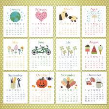 kids design inspiration kids desk calendar cute desk calendars