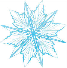 printable star 6 frozen snowflake templates free printable word pdf jpeg