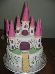 Castle Cake Made For A Beautiful Girls Creative Cake Design By