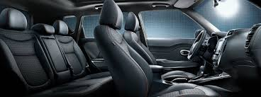 front and rear seats in the 2018 kia soul