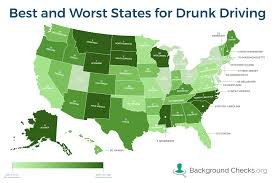Which States Have The Most Drunk Driving Problems