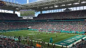 Hard Rock Stadium Seating Chart Hurricanes Exhaustive Miami Dolphins Stadium Seat View Dolphin Stadium