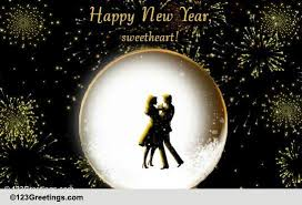 Wish Your Sweetheart A Happy New Year. Free Love eCards ...